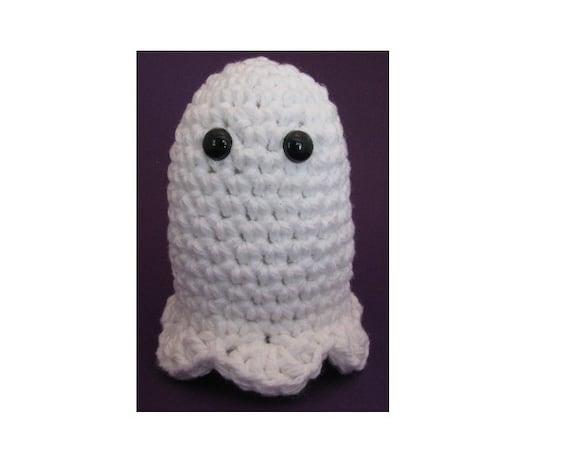 Quick Amigurumi Pattern : Amigurumi Crochet Pattern Quick and Easy Halloween Ghost