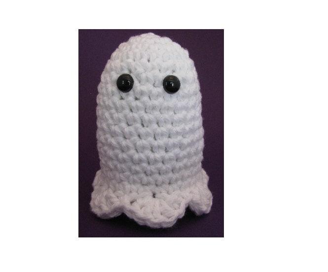 Quick Amigurumi Crochet Patterns : Amigurumi Crochet Pattern Quick and Easy Halloween Ghost