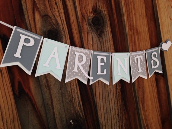 Parents to be, Mommy to be banner