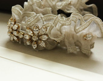 Wedding Garter  - Margherita (Made to order)