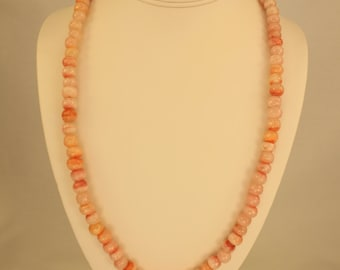 Rhodocrosite Necklace