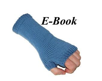 E-Book Anleitung fingerlose Handschuhe