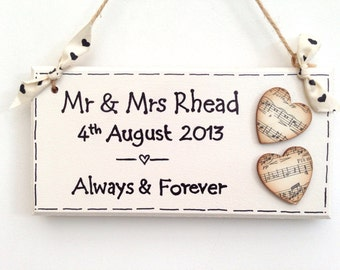 Always & Forever Plaque