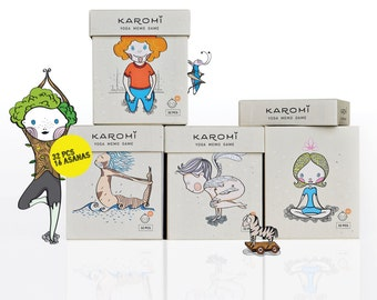 Yoga Memory Game/ Memo Game/ Yoga Game for Kids