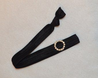 The Perfect Sophisticated No Slip Shilly's Frillies Elastic Headband