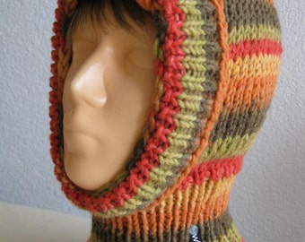 Scarf hat cap children slip-color