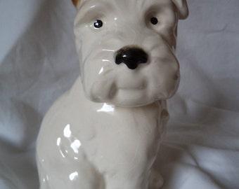 Vintage Signed Beswick Terrier Dog Ornament