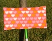 HEARTS Reusable Fleece Swiffer Sweeper Pads