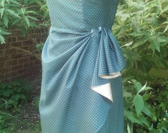 1950's shelf bust dress