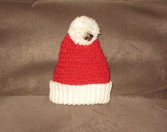 Baby Santa Hat by Dreamy Baby Knits