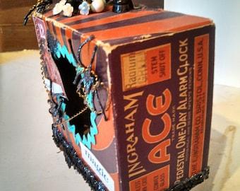 Halloween Black Magic Spell Box