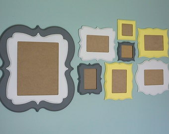 8 Piece Custom Whimsical Frame Collection