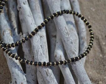 Spinel Necklace  (JK 603) black