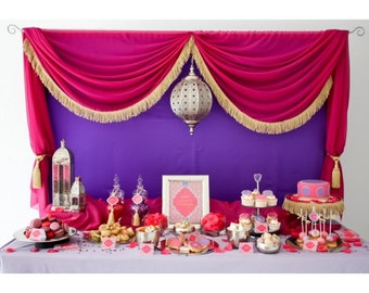 Moroccan Party Printable Collection - Printable Customized Package