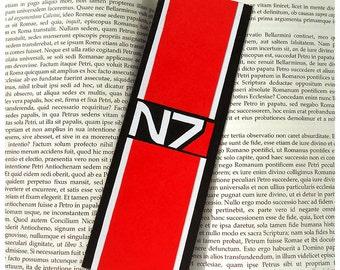 Mass Effect Normandy bookmark