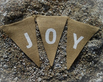 Joy Garland Joy Banner Christmas Banner Joy Bunting Christmas Garland Holiday Banner Christmas Decor Holiday Decor Banner Scandinavian