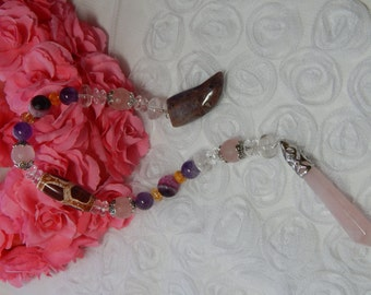 1. PENDULUM.Can be used as a Healing pendulum and Divination pendulum.
