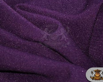 """Poly Poplin Solid Fabric PLUM / 120"""" Wide / Sold by the yard"""