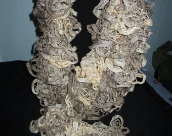ruffly sands scarf