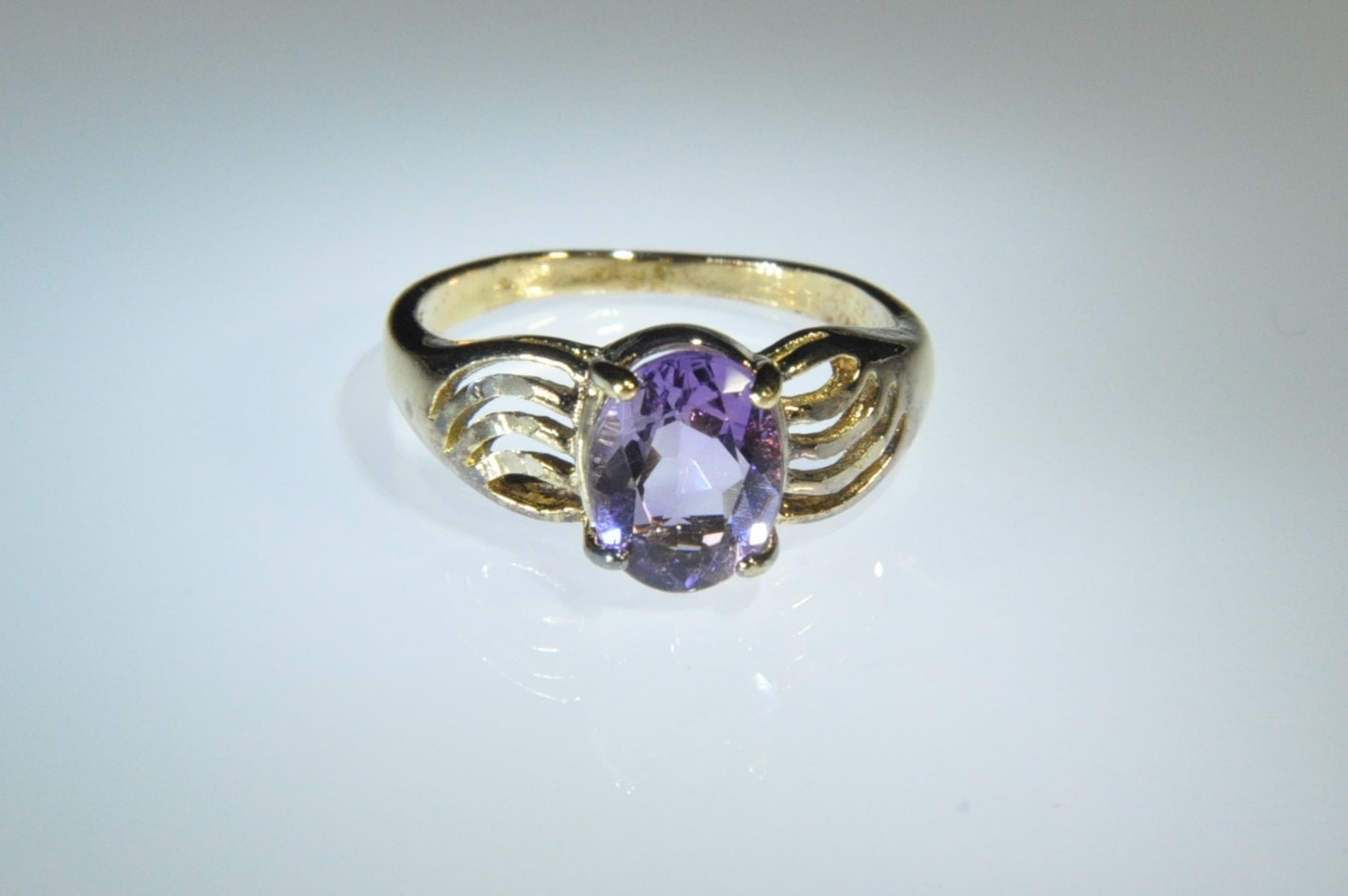 amethyst ring vintage - photo #30