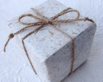 Rice Straw Saa Mulberry Paper and twine - Gift Wrap