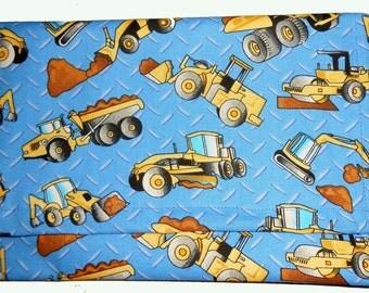 Tonka Toys Boys Pencil  Pouch,  Handmade pencil pouch,