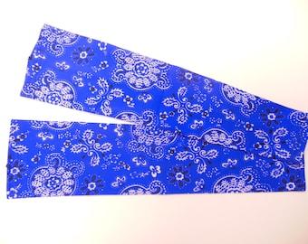 Bandana Rama - Blue sleeve