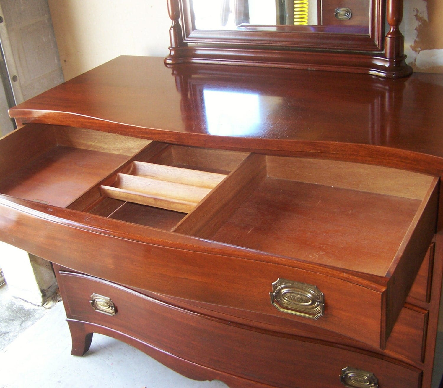 REDUCED Continental Furniture Co Mahogany Bedroom Dresser