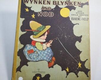 Wynken Blynken And Nod by Eugene Field 1925