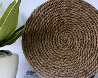 Hemp Rope Placemats
