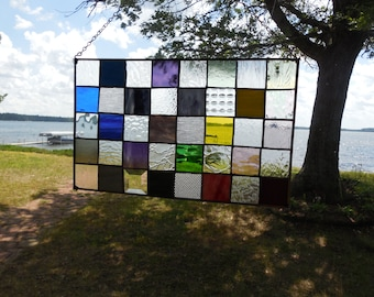 A Quilt in Glass