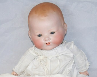 Antique Armand Marseille Dream Baby Doll - Bisque Head /MEMsArtShop.