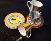 Coffee Tea or Me Nina Demi Tasse Sets