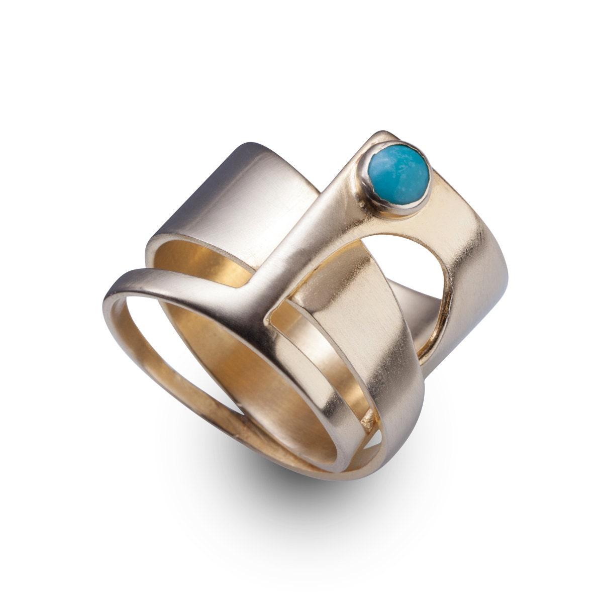 unique ring unique14k gold rings unique jewelry
