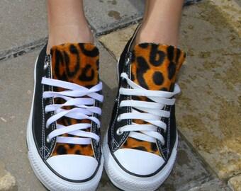 Leopard Print Converse Chuck Taylor Shoes