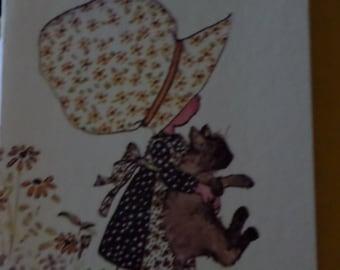 Vintage Holly Hobby Card