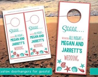Door hanger template | Etsy
