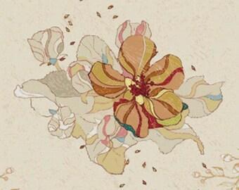 Vintage Flower PDF Cross Stitch Pattern