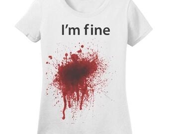Ladies Im Fine T shirt