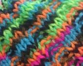 Blacklight Broken Rib Knit Hat