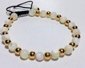 Mother of  women pearl bracelet
