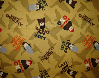 Per Yard, Duck Dynasty Fabric From Springs Creative