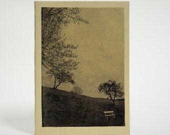 Eco notebook - Handmade travel journal - Dublin photography - A6 10x15 - Custom notebook