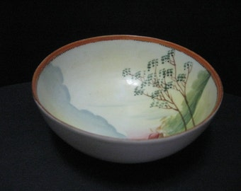 Vintage 1930's 40's China  -  Nippon  footed Bowl      2015030 - 57