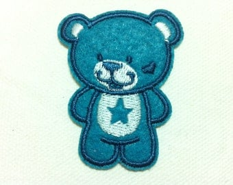 Kids Patch Cutie Bear (4 x 5 cm) Embroidered Applique Iron on Patch (ALL)