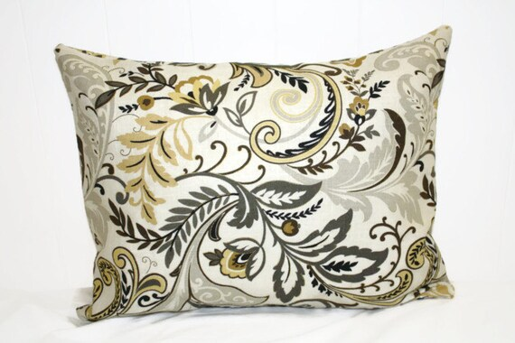Decorative 12x16 Lumbar Whimisical Pillow Case Cover