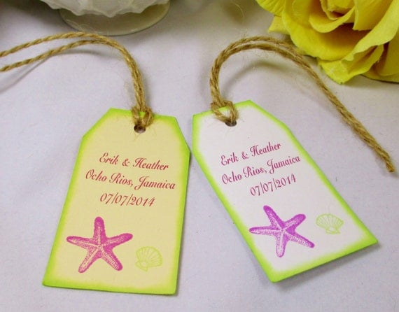 Thank You Letter For Wedding Gift Bags : Welcome Wedding Favor Tag/Welcome Gift Bag Tag/Beach Wedding Thank You ...