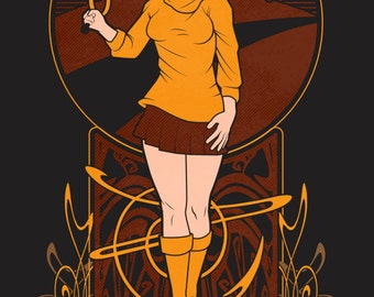 Scooby Doo Velma art print