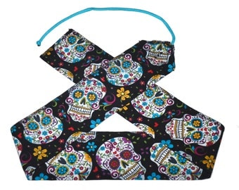 Sugar Skulls - Weight Lifting Wrist Wraps