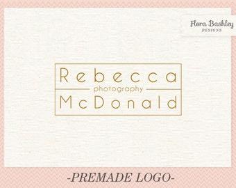 Custom Logo Design Premade Logo and Watermark - FB122